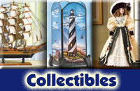 Collectibles Lighthouses, Dolls etc
