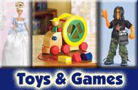 Pens, Games, Toys, Novelties