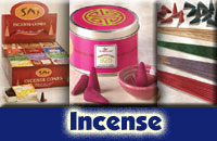 Incense, Burners, Storage Boxes